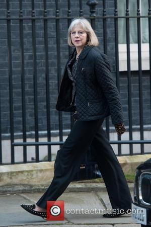 Theresa May - Ministers arrive for a Cabinet meeting held at 10 Downing Street. - London, United Kingdom - Tuesday...