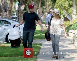 Teresa Palmer, Mark Webber and Bodhi Palmer