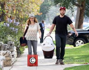 Teresa Palmer, Mark Webber and Bodhi Palmer - Teresa Palmer and husband Mark Webber take newborn son Bodhi to a...