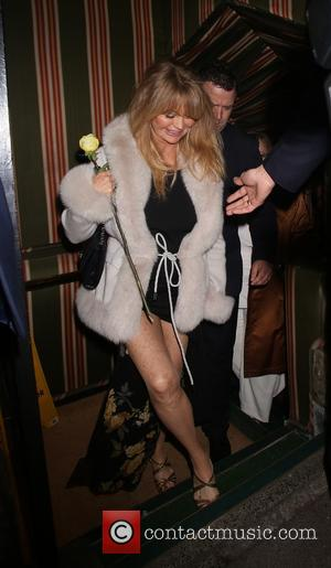 Goldie Hawn - Annabel's Restaurant dinner party - Departures - London, United Kingdom - Tuesday 4th March 2014
