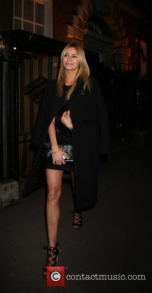 Tess Daly - Annabel's Restaurant dinner party - Departures - London, United Kingdom - Tuesday 4th March 2014