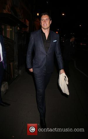 Vernon Kay - Annabel's Restaurant dinner party - Departures - London, United Kingdom - Tuesday 4th March 2014