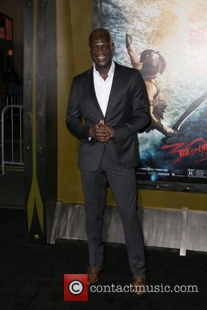 Peter Mensah - Celebrities attend premiere of Warner Bros. Pictures and Legendary Pictures'