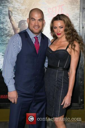 Tito Ortiz and Kristin Ortiz - Celebrities attend premiere of Warner Bros. Pictures and Legendary Pictures'