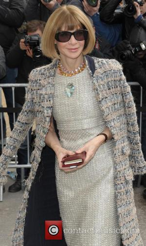 Anna Wintour - Celebrities at the Chanel Fashion Show - Paris, France - Tuesday 4th March 2014