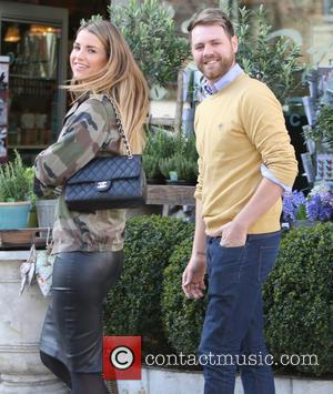 Brian McFadden and wife Vogue - Brain McFadden and wife Vogue outside ITV Studios - London, United Kingdom - Tuesday...