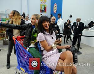 Rihanna, Cara Delevingue and Joan Smalls