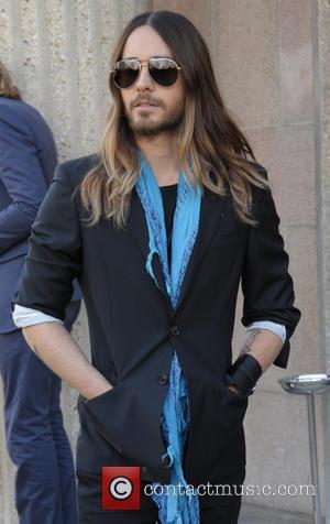 Jared Leto - Paris Fashion Week Autumn/Winter 2014 - Miu Miu - Arrivals - Paris, France - Wednesday 5th March...