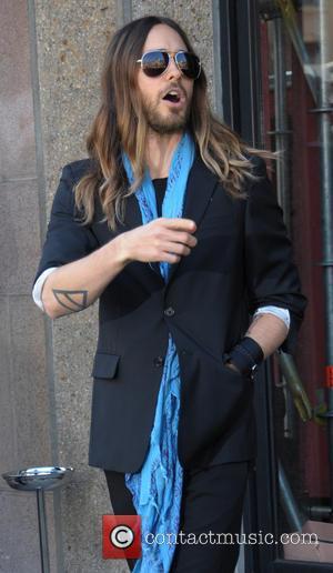 Jared Leto - Paris Fashion Week - Miu Miu -...