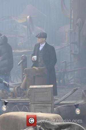 Cillian Murphy - Cillian Murphy films scenes for the second series of crime drama 'Peaky Blinders' on location at the...