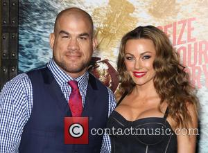 Tito Ortiz and Kristin Ortiz - 300: Rise of an Empire Hollywood Premiere at TCL Chinese Theatre - Hollywood, California,...