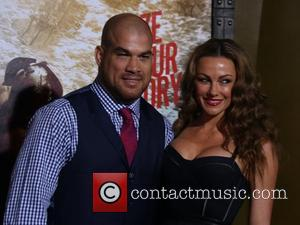 Tito Ortiz and Kristin Ortiz - Premiere of '300: Rise of an Empire' held at at TCL Chinese Theatre -...