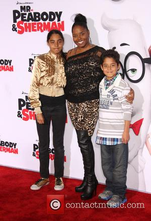 Shar Jackson, Cassilay Monique Jackson and Donovan Jackson - Premiere Of Twentieth Century Fox And DreamWorks Animation's