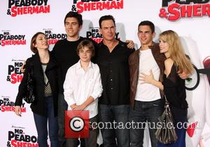 Patrick Warburton - The Twentieth Century Fox and Dreamwork Animation Holly-Woof Premiere of 'Mr. Peabody & Sherman' held at The...