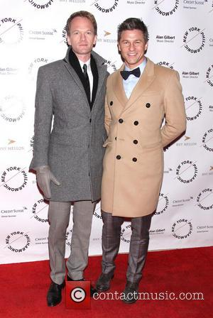Neil Patrick Harris and David Burtka - Opening Night of New York Philharmonic's Sweeney Todd, held at Avery Fisher Hall...