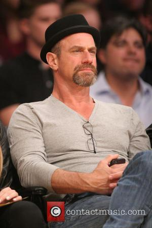 Christopher Meloni - Celebrities courtside at the Los Angeles Lakers v New Orleans Pelicans NBA basketball game at the Staples...