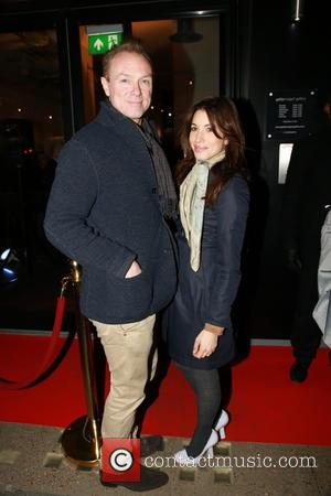 Gary Kemp and Lauren Kemp - PRS for Music: 100 Years of Music VIP launch at Getty Images Gallery -...