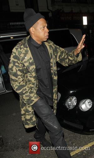 Jay Z - Beyonce and Jay Z arriving at the Arts Club in Mayfair after the Mrs Carter Show World...
