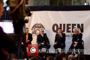 Roger Taylor, Adam Lambert and Brian May