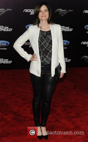 Betsy Brandt - Premiere of DreamWorks Pictures 'Need For Speed'  - Arrivals - Los Angeles, California, United States -...