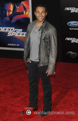 Corbin Bleu - Premiere of DreamWorks Pictures 'Need For Speed'  - Arrivals - Los Angeles, California, United States -...
