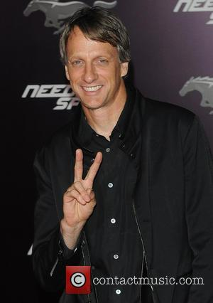 Tony Hawk - Premiere of DreamWorks Pictures 'Need For Speed'  - Arrivals - Los Angeles, California, United States -...