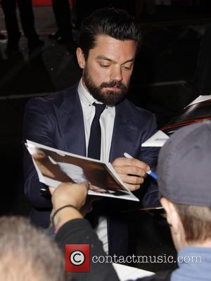Dominic Cooper - 'Need for Speed' Los Angeles premiere at the TCL Chinese Theatre - Outside Arrivals - Los Angeles,...
