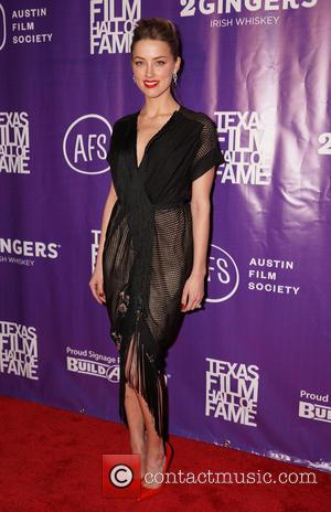 Amber Heard - 2014 Texas Film Hall of Fame Awards held at Austin Studios - Arrivals - Austin, Texas, United...