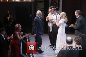 Stephen Sondheim and Cast