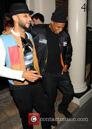 Jay-Z and Swizz Beatz - Beyonce and Jay-Z leaving The Arts Club in Mayfair at around 5am. They were joined...
