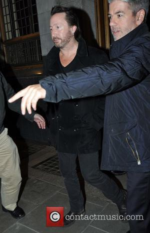 Julian Lennon - Bono, Sean Penn and Julian Lennon leave Cleaver East in the Clarence Hotel after having dinner together...