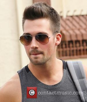 James Maslow - Celebrities arrive at a dance studio to rehearse for season 18 of 'Dancing with the Stars' -...