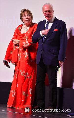 Shirley MacLaine and Christopher Plummer - Miami International Film Festival (MIFF) 2014 - Elsa & Fred - Premiere - Miami,...