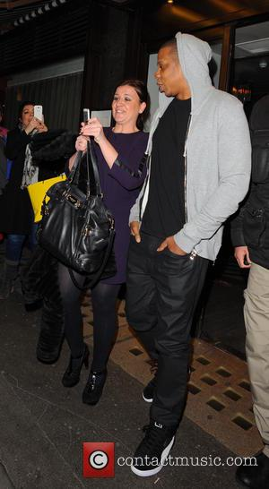 Jay Z - Beyonce and Jay Z leaving Cecconi's restaurant in Mayfair - London, United Kingdom - Friday 7th March...