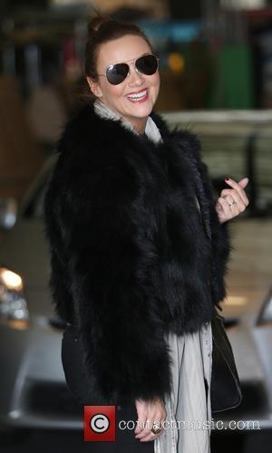 Martine McCutcheon - Martine McCutcheon outside the ITV studios - London, United Kingdom - Friday 7th March 2014