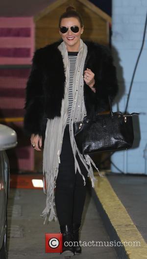 Martine McCutcheon - Celebrities at the ITV studios