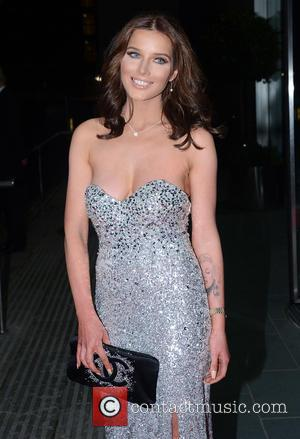 Helen Flanagan - The Mirror Ball 2014 held at Lowry Hotel - Arrivals - Manchester, United Kingdom - Friday 7th...