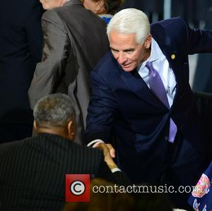 President Barack Obama and Charlie Crist