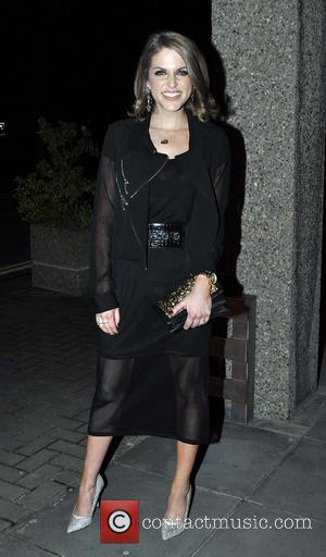 Amy Huberman - Celebrities outside the RTE studios for 'The Late Late Show' - Dublin, Ireland - Friday 7th March...