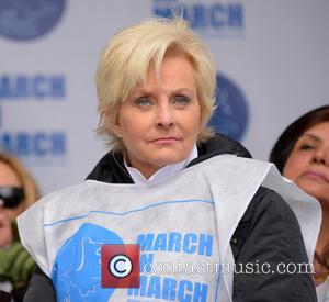 Cindy McCain - UN Women for Peace's 'March in March' rally to end violence against women, held at United Nations...