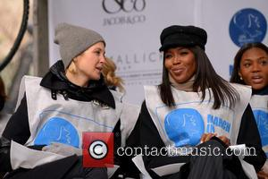 Kelly Rutherford and Naomi Campbell - UN Women for Peace's 'March in March' rally to end violence against women, held...