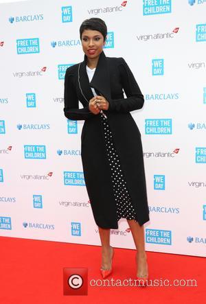 Jennifer Hudson - WE day UK held at Wembley arena - Arrivals - London, United Kingdom - Friday 7th March...