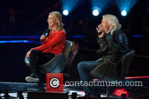 Holly Branson and Sr Richard Branson - 'WE day UK' held at Wembley Arena - Performances - London, United Kingdom...