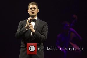 Michael Buble - Michael Buble performs live at The SECC - Glasgow, Scotland, United Kingdom - Saturday 8th March 2014