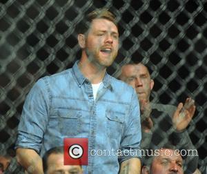 Brian McFadden - UFC Fight Night London: Gustafsson vs Manuwa held at The O2 - Celebrity Sightings - London, England,...