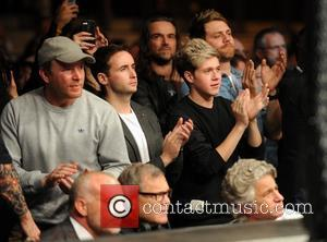 Guy Ritchie, Niall Horan, Shane Filan and Brian McFadden - UFC Fight Night London: Gustafsson vs Manuwa held at The...