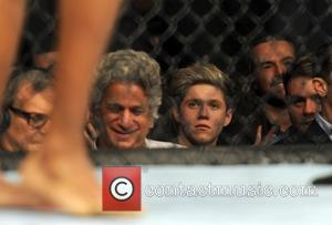 Niall Horan and One Direction - UFC Fight Night London: Gustafsson vs Manuwa held at The O2 - Celebrity Sightings...