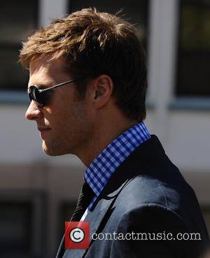 Tom Brady - Gisele Bundchen and Tom Brady leave St. Monica's Church in Santa Monica after having their daughter Vivian...