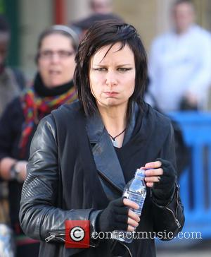 Mary Lynn Rajskub - '24: Live Another Day' filming in Central London - London, United Kingdom - Sunday 9th March...