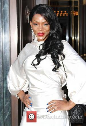 Caroline Chikezie - British actress Caroline Chikezie arriving at Cafe Royal in Piccadilly - London, United Kingdom - Sunday 9th...